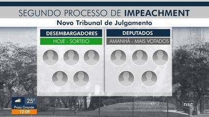 Segundo processo de impeachment: novo Tribunal de Julgamento começa a ser formado