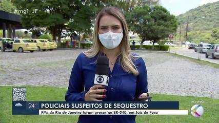 PMs do Rio são presos em Juiz de Fora suspeitos de sequestro em Belo Horizonte