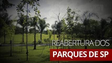 Veja regras para a reabertura dos parques de São Paulo aos finais de semana