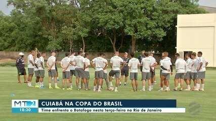 Depois da derrota na série B, Cuiabá se prepara para jogo pela Copa do Brasil
