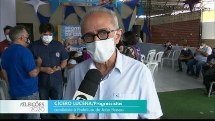 Veja a agenda de campanha de Cícero Lucena nesta segunda-feira