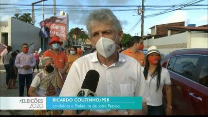 Veja a agenda de campanha de Ricardo Coutinho nesta segunda-feira