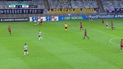 Confira desarmes de Raul Prata, do Sport, contra o Atlético-MG