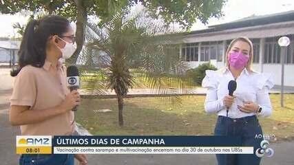 Campanha de multivacinação encerra no dia 30 de outubro nos postos de saúde do Amapá