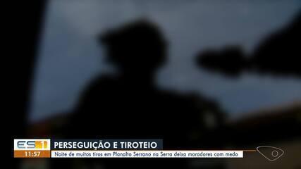 Tiroteio foi registrado em Planalto Serrano, na Serra