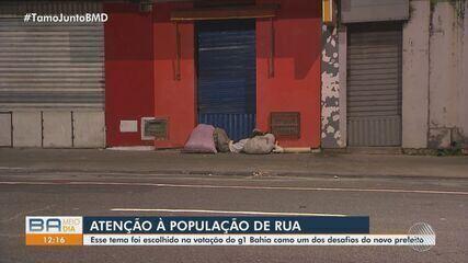 Pandemia e desemprego causam crescimento da população de rua na capital baiana