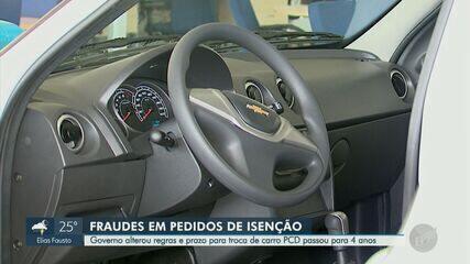 Governo de SP muda regras para isenção de impostos em veículos para PCDs