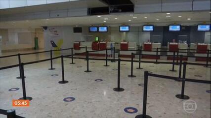 Aeroportos da Europa Continental correm risco de quebrar por causa do colapso no setor da aviação