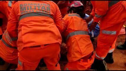 Menina de 6 anos é resgatada após ficar duas horas em buraco em Uberlândia