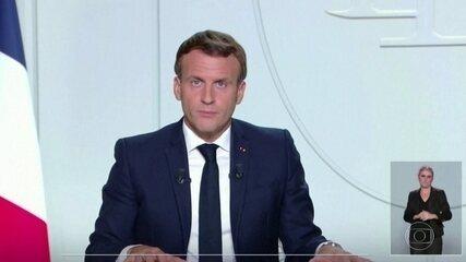 França decreta a volta do lockdown para conter aumento de Covid