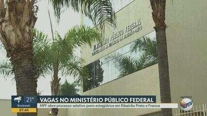 MPF abre processo seletivo para estagiários em Ribeirão e Franca