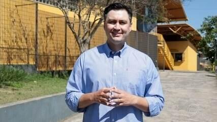 Candidato Fábio Marcussi fala sobre propostas para transporte público em Jundiaí