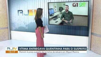 Homem é preso acusado de tentativa de estupro em Miguel Pereira