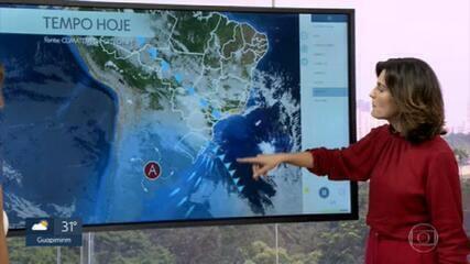 Veja como fica o tempo no Rio de Janeiro na tarde desta quinta-feira (29)