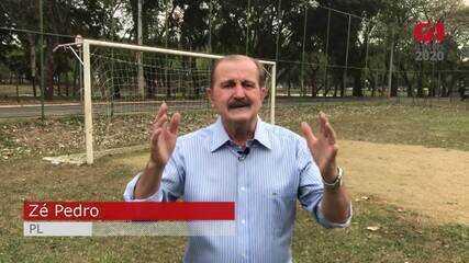 Zé Pedro (PL) resume proposta para o esporte em Piracicaba