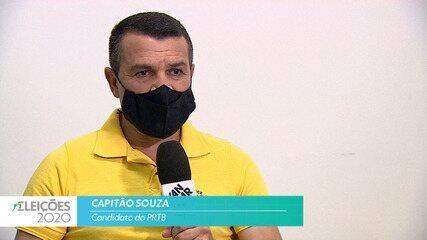 Candidato Capitão Souza (PRTB) fala sobre a segurança para cidade de Taubaté