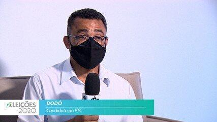 Candidato Dodó (PTC) fala sobre a segurança para cidade de Taubaté