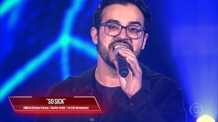 Douglas Ramalho canta 'So Sick'