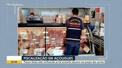 Aumento no preço da carne motiva fiscalização do Procon em açougues de Goiânia