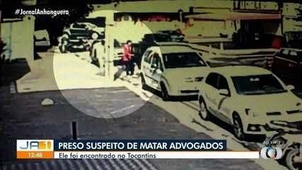Imagens mostram suspeitos de morte de advogados saindo de hotel em Goiânia