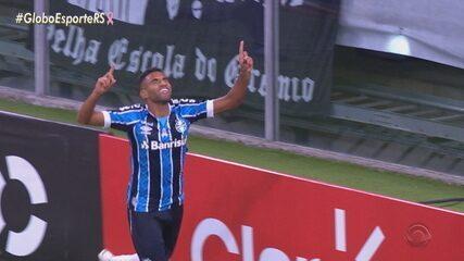 Grêmio vence e sai em vantagem na Copa do Brasil contra o Juventude