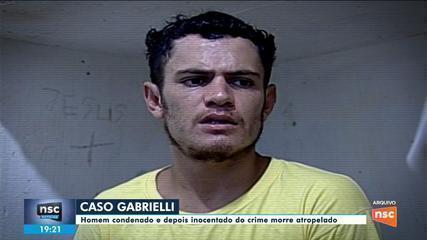 Homem condenado e depois inocentado no caso Gabrielli morre atropelado