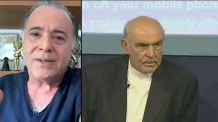 """Referência de ator disciplinado e atento"", diz Tony Ramos sobre Sean Connery"