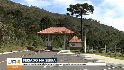 Morro da Igreja, na Serra de SC, reabre visitação