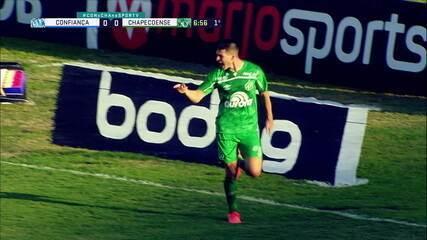 Os gols de Confiança 0 x 2 Chapecoense, pela 19ª rodada do Brasileirão Série B
