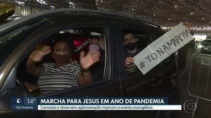 Dia de fé e solidariedade na Marcha para Jesus