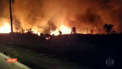 Mourão lamenta recorde de focos de incêndio na Amazônia