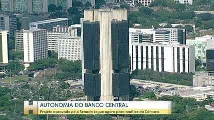 Senado aprova autonomia do Banco Central; proposta segue para Câmara