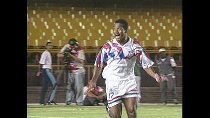 O gol de Botafogo 0 x 1 Friburguense, pelo Campeonato Carioca de 1999