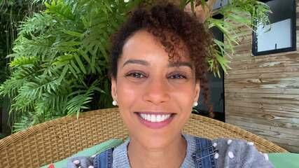 Taís Araujo manda recado especial para mãe da IZA