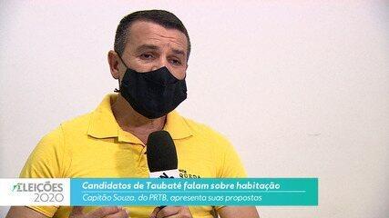 Capitão Souza (PRTB) diz o que pretende fazer na habitação