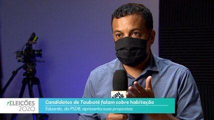 Eduardo (PSDB) diz o que pretende fazer na habitação