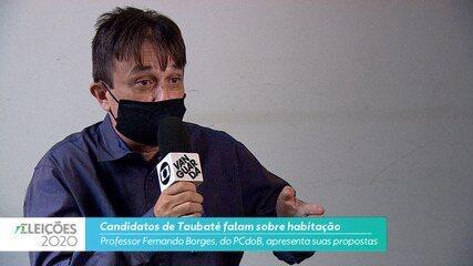 Professor Fernando Borges (PCdoB) diz o que pretende fazer na habitação