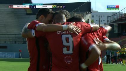 Confira os melhores momentos entre Brasil de Pelotas 3 x 0 Cuiabá