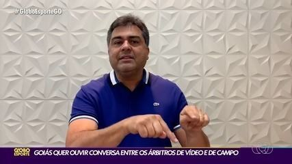 Marcelo Almeida, presidente do Goiás, promete ir à CBF questionar decisão da arbitragem