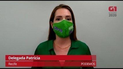Delegada Patrícia fala sobre propostas da saúde para melhorar a atenção básica no Recife