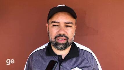 Cleiton Marcelino identifica erros e projeta evolução no Serra após derrota para a Tiva