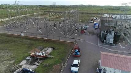 Apagão que atingiu cerca de 90% da população do Amapá completa uma semana