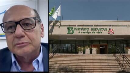 Diretor do Butantan comenta suspensão de testes da CoronaVac