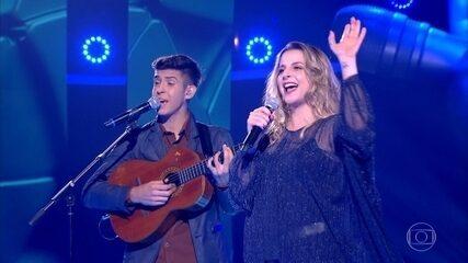 """Luana Marques e Sérgio Dorneles cantam """"Sertão luar"""""""