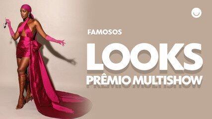 Prêmio Multishow: confira o look dos famosos no maior evento musical do Brasil