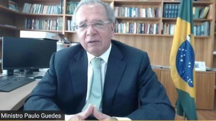 Guedes diz que auxílio emergencial pode ser prorrogado se houver segunda onda de Covid-19