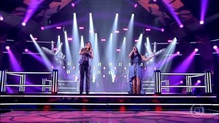 Nanara Bello e Thalita Maciente cantam 'Supera'
