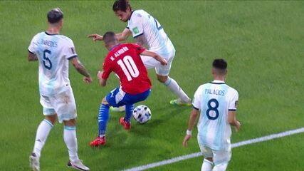 Melhores momentos: Argentina 1 x 1 Paraguai pela 3ª rodada das Eliminatórias da Copa