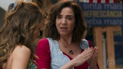 Francesca aconselha Tancinha a refletir antes de casar com Apolo