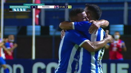 Os gols de Avaí 2 x 1 Paraná pela 21ª rodada do Brasileirão Série B 2020